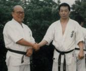 大山総裁と大石範士