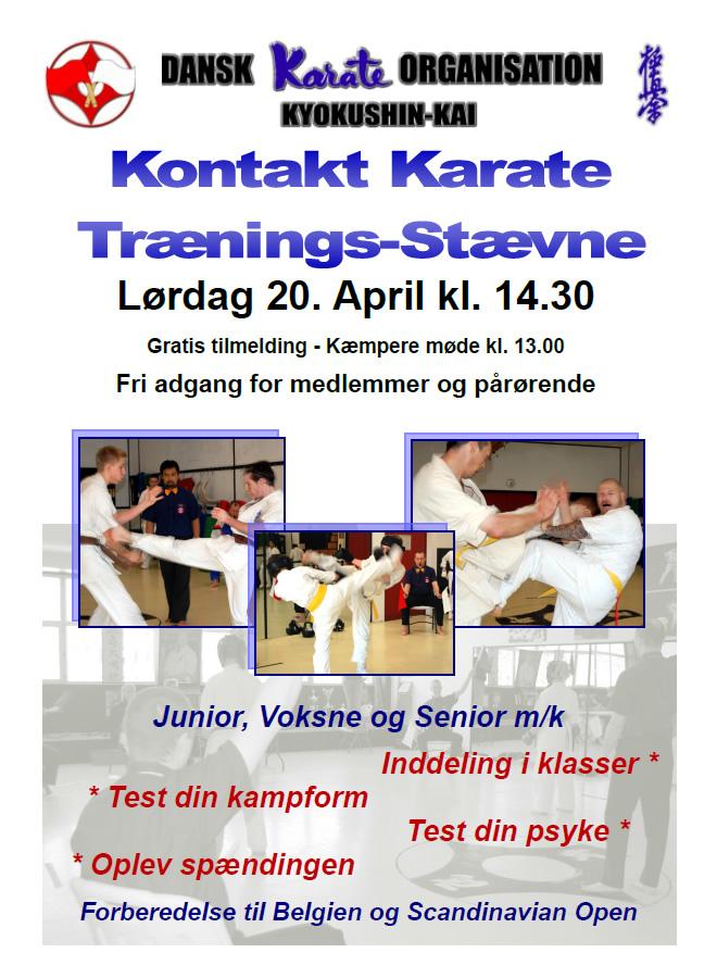 Træningsstævne april 2013