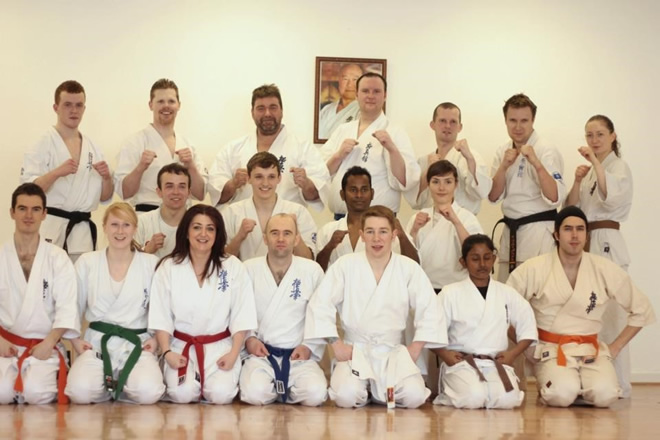 The inaugural open Kumite-Workshop for ALL knockdown fighters