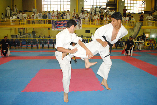 SO-KYOKUSHIN Karate competition in WEST of TEHRAN PROVINCE -Iran