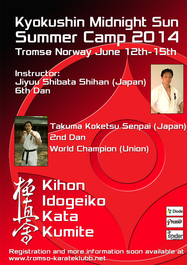 Kyokushin Midnight Sun Summer Camp 2014 (Norway)
