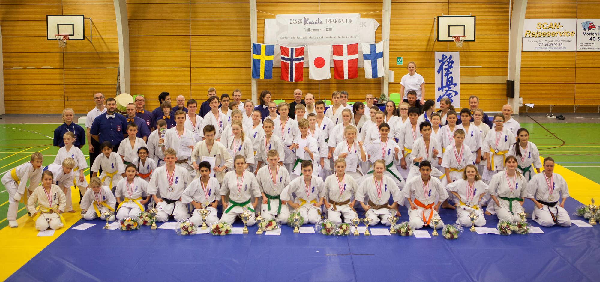 Danish So Kyokushin Championship and Scandinavian Friendly Match 2014