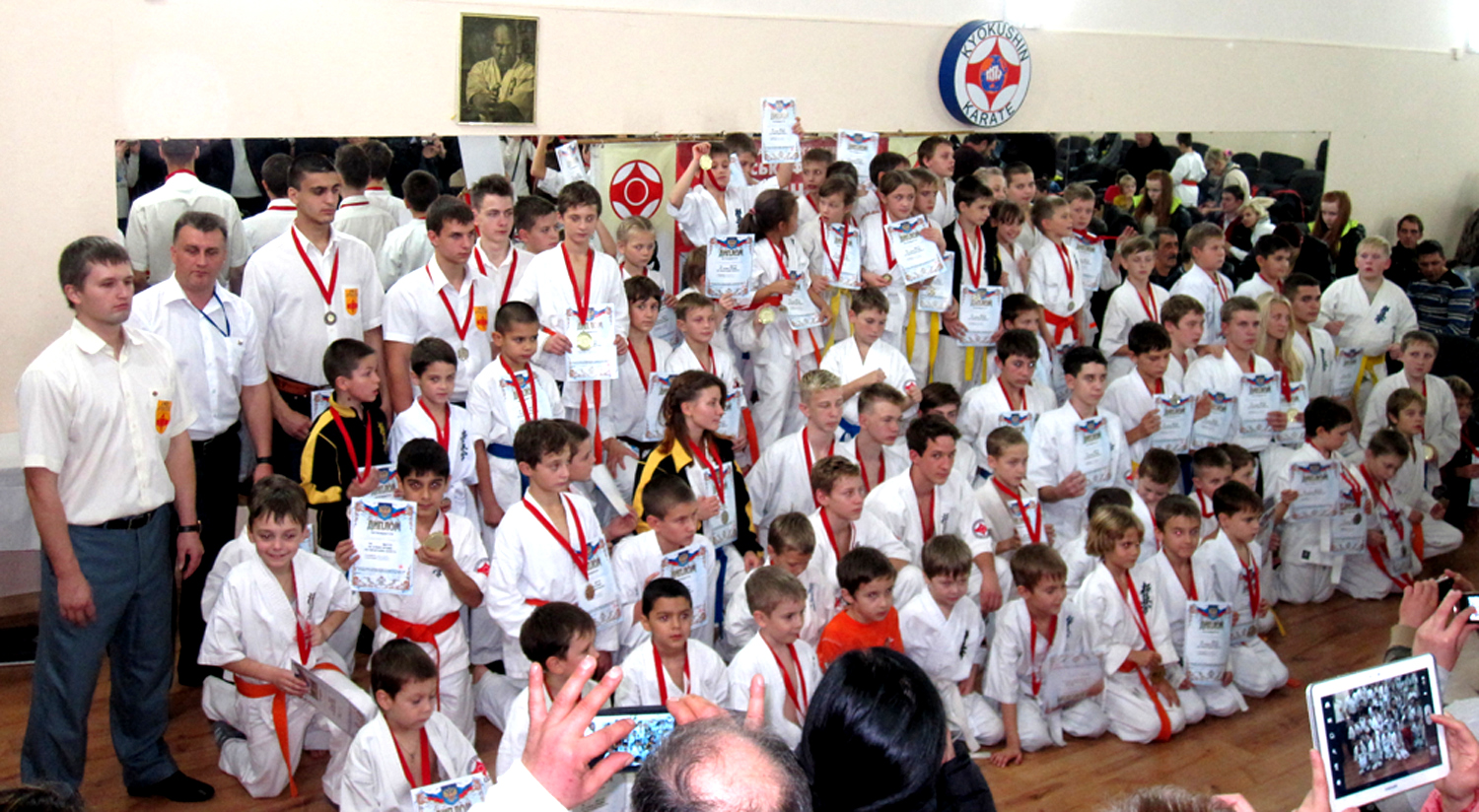 The Cup of the Republic of Crimea in So-Kyokushin karate