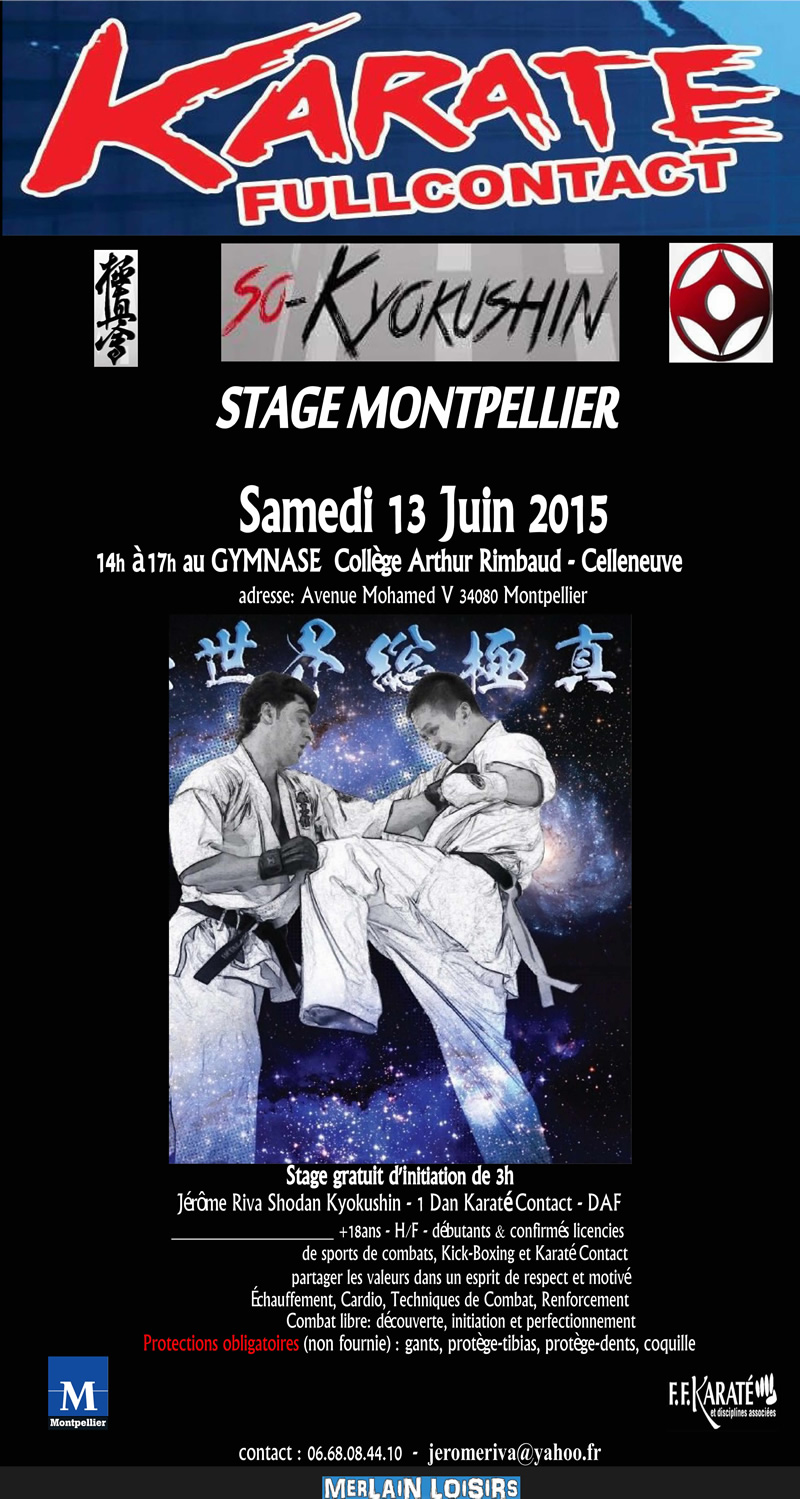 Stage-Kyokushin