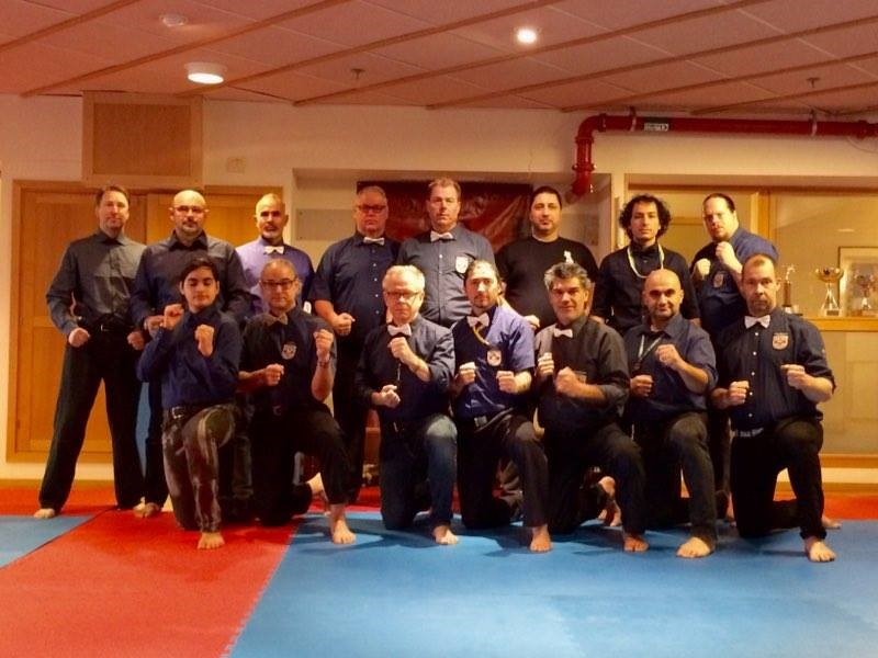 Wiklund Dojo had referee judge cours  two days1
